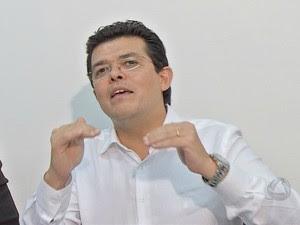 Olarte admite crise em Prefeitura de Campo Grande (Foto: Maria Caroline Palieraqui/G1 MS)