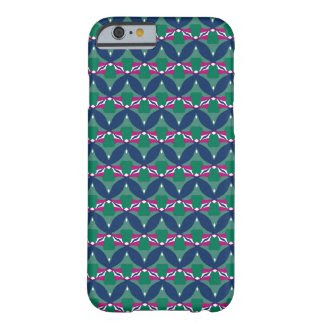 Blue Green Magenta on iPhone 6 Barely There Case Barely There iPhone 6 Case
