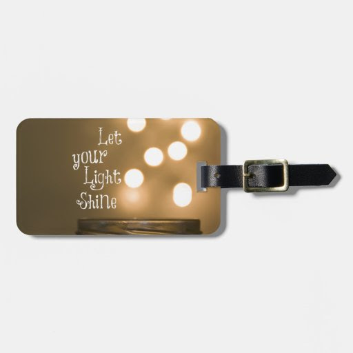 Inspirational Bible Verse Christian Quote Luggage Tag  Zazzle