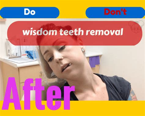 wisdom teeth removal recovery tips foods pain