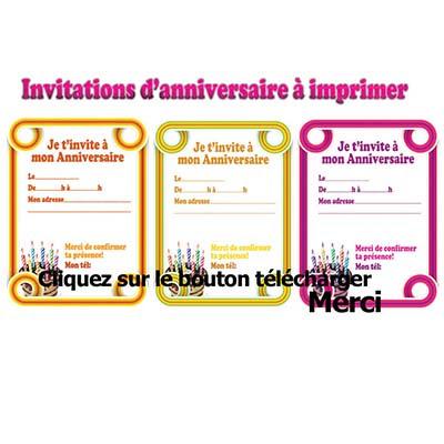 Carte D Invitation Anniversaire Adulte Gratuit A Imprimer Tasyafiolarara Web