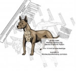 Mexican Hairless Dog Intarsia or Yard Art Woodworking Plan - fee plans from WoodworkersWorkshop® Online Store - Mexican Hairless dogs,pets,animals,dog breeds,intarsia,yard art,painting wood crafts,scrollsawing patterns,drawings,plywood,plywoodworking plans,woodworkers projects,workshop blueprints
