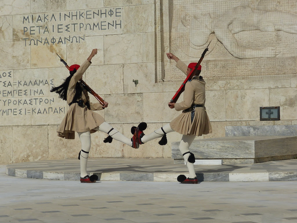 Athens, Changing of the Guard