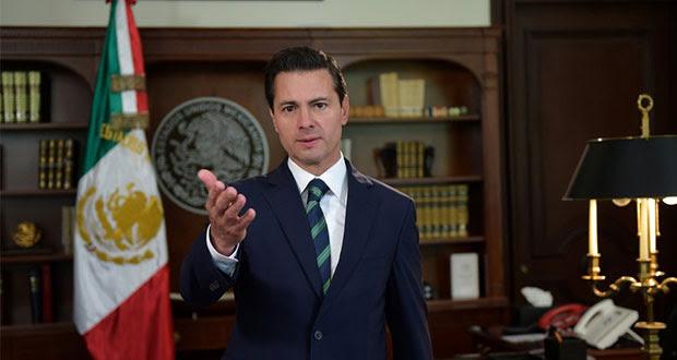 México está listo para negociar con Trump, pero con respeto: EPN