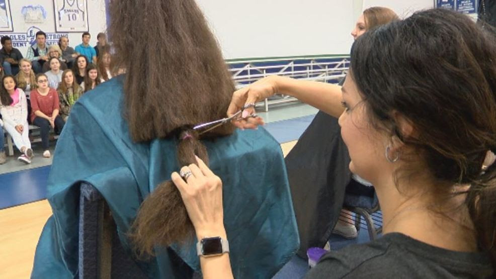 Conway Christian School students donate hair for cancer ...