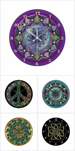 Celtic Clocks