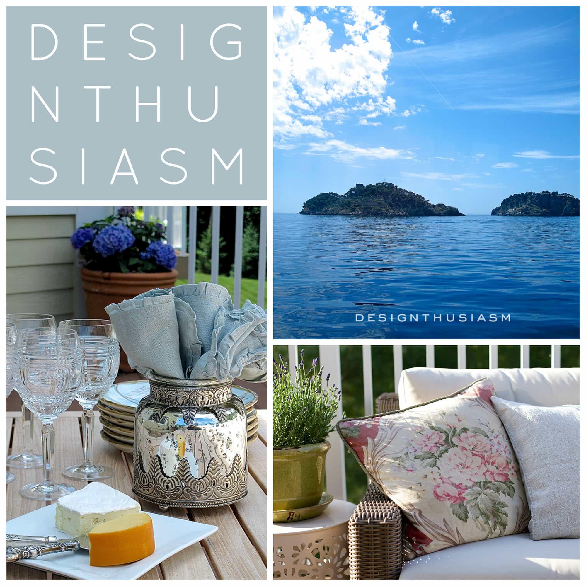 Summer Colors Collage   Designthusiasm.com
