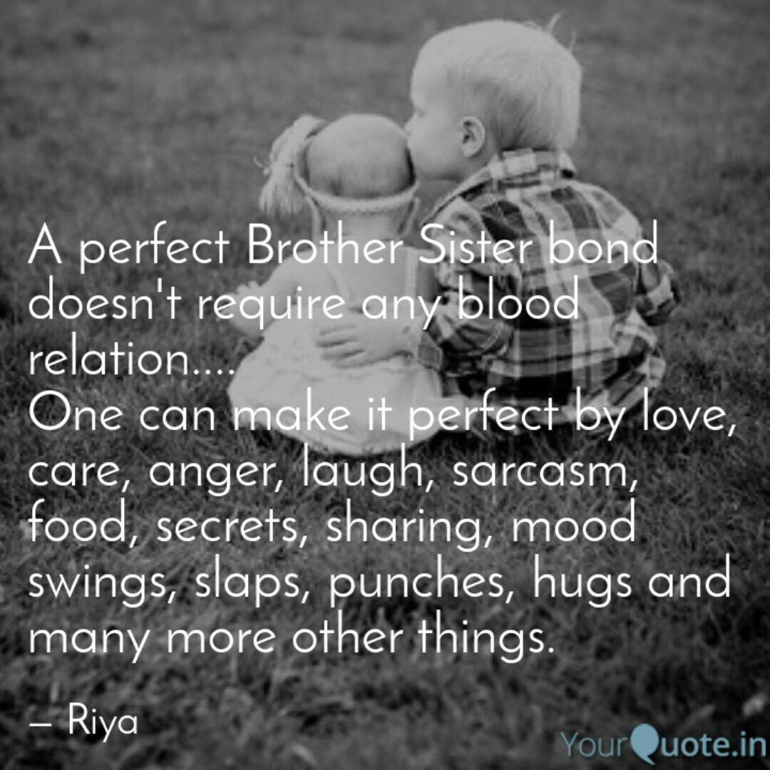 Brother And Sister Love Quotes Master Trick
