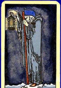 cartea de tarot Pustnicul