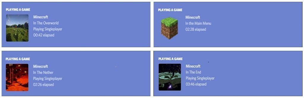 Minecraft Discord Integration