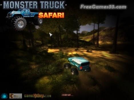Monster Truck Safari Free Download Game PC