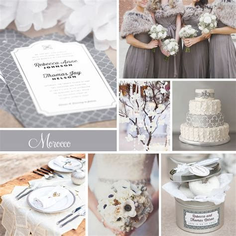 Wedding Inspiration: Morocco (Winter Wonderland)   Wedding