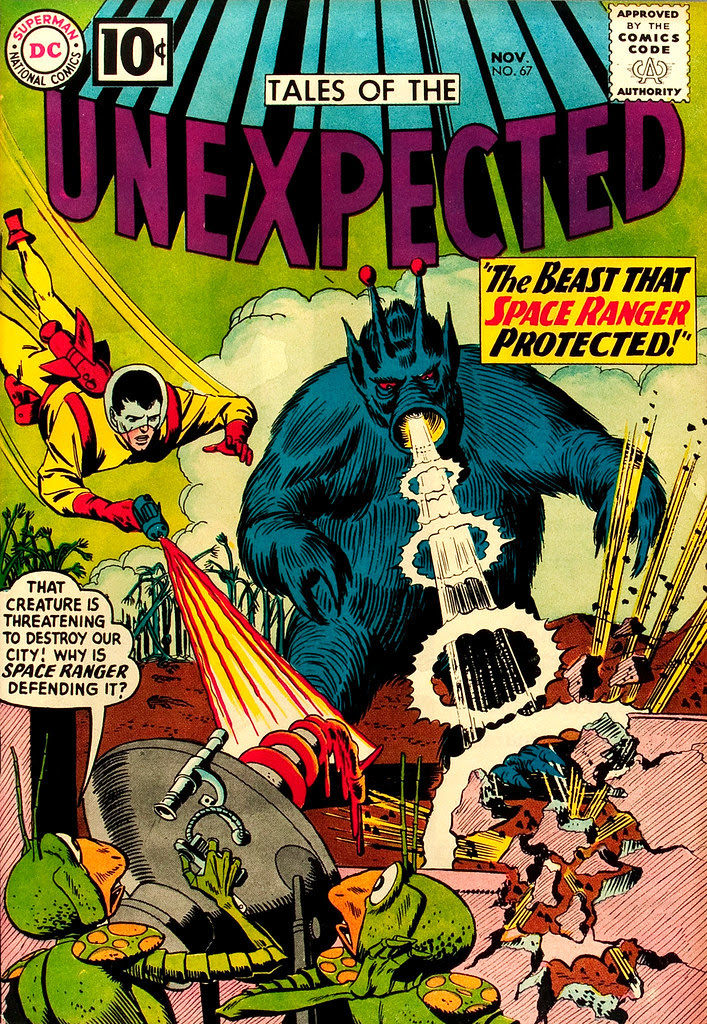 Tales of the Unexpected #67 (DC, 1961) Bob Brown cover