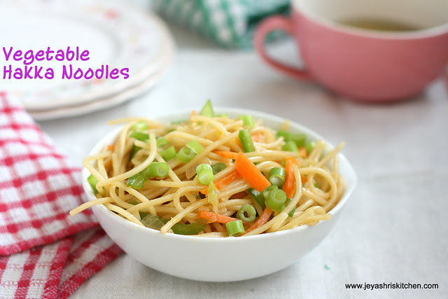 hakka- noodles