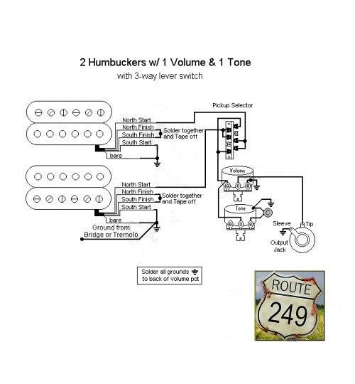 Diagram Guitar Wiring Diagrams 2 Pickups 1 Volume 1 Tone Full Version Hd Quality 1 Tone Diagramkiarar Sardegnablog It