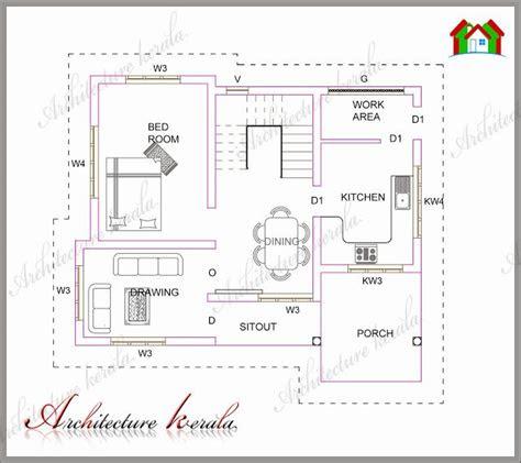 architecture kerala plan  lowmedium cost house