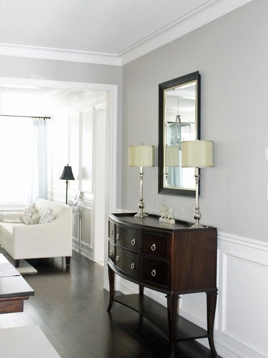 Picking the Perfect Gray {paint} Benjamin Moore Revere Pewter