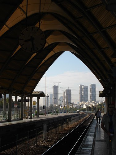 Tel Aviv University train station