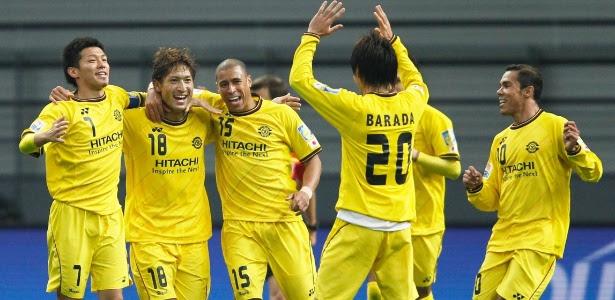 Jorge Wagner é a principal referência do Kashiwa Reysol e disputou 40 jogos no ano pelo clube japonês