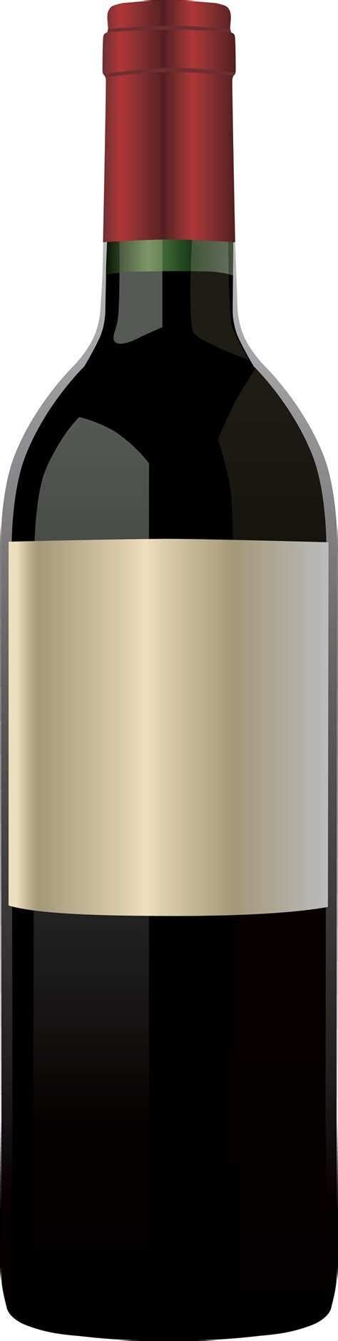 Red Wine Bottle   Free Vector