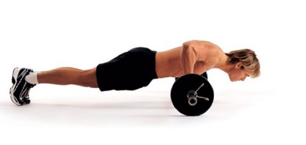 Push ups for Stability and Shoulders