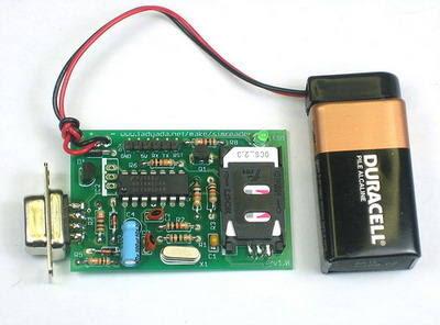 Smart Sim GSM đọc thẻ sao chép mạch