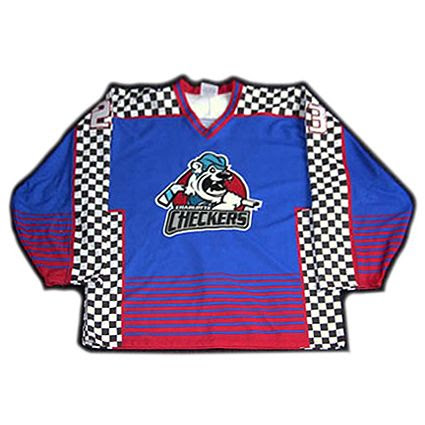 Charlotte Checkers 02-03 jersey