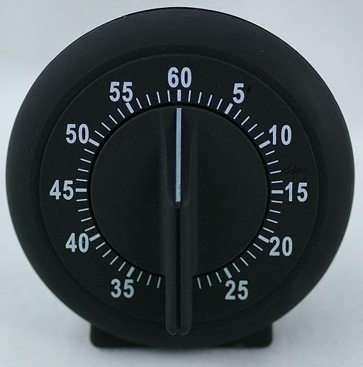 Mechanical egg timer