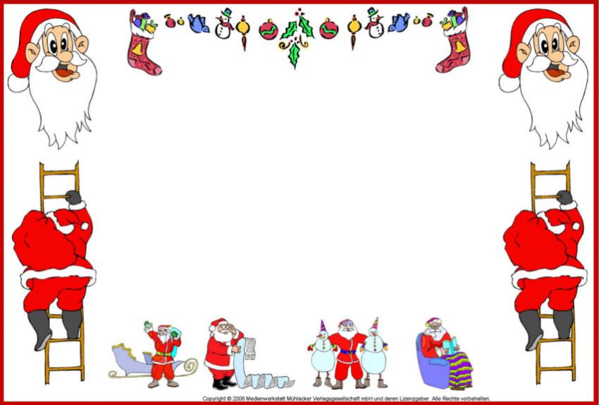 Genial Nikolaus Bilder Zum Ausdrucken Blog Beispiel