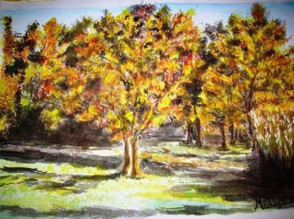 5 Trucos Para Pintar Paisajes Manualidades