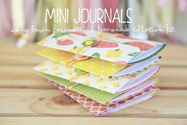 mini journals with Nicole