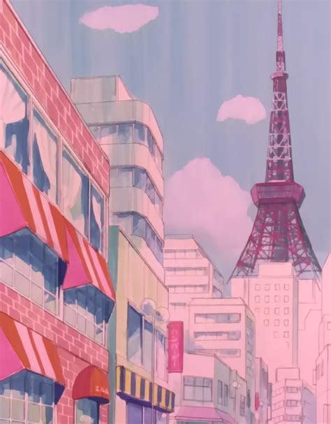 sailor moon scenery photo aesthetic anime
