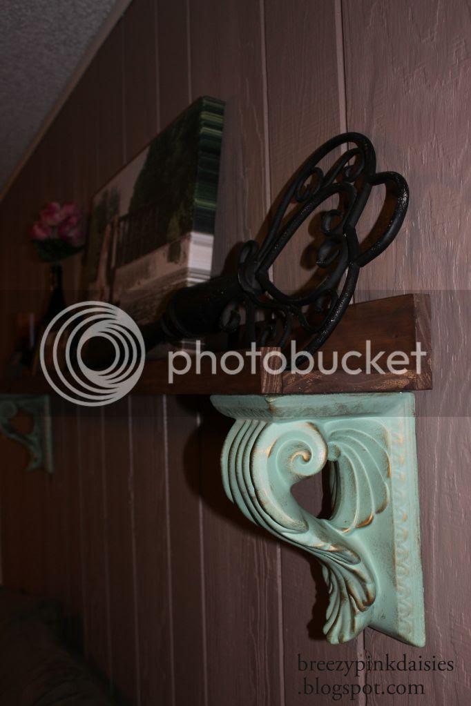 Pottery Barn Knock Off Shelf