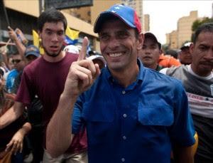 En la imagen un registro del líder de la oposición venezolana, Henrique Capriles. EFE/Archivo