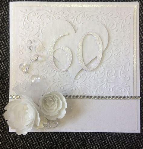 60th wedding anniversary card   cards   Pinterest