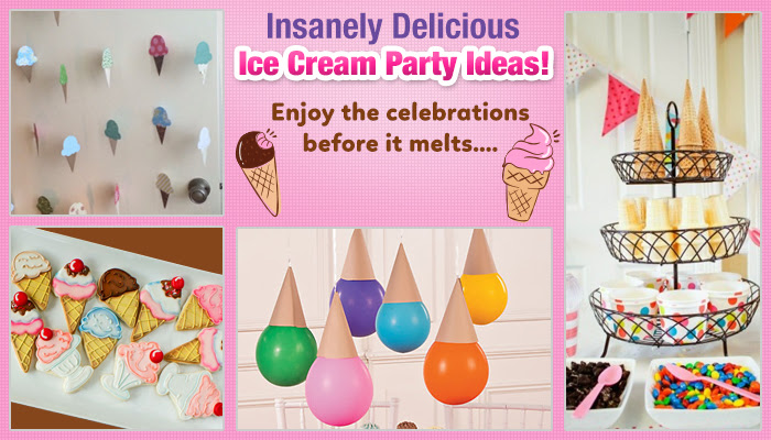Insanely Delicious Ice Cream Party Ideas