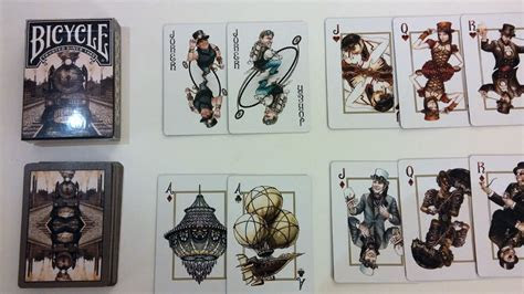 Steampunk Playing Cards   Bicycle   USPC Limited Edition