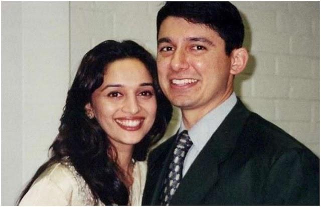 श्रीराम नेने के साथ पहली डेट पर बाल-बाल बची थीं माधुरी दीक्षित
