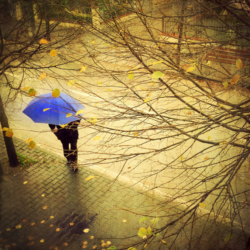 The Blue Umbrella por Visualtricks