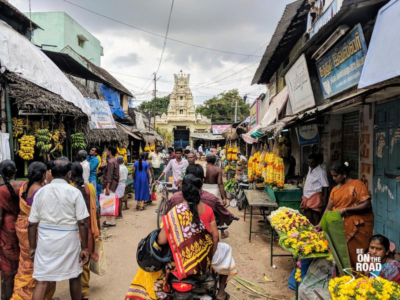 Riot of colors at Kallidaikurichi Market during Pongal 2018