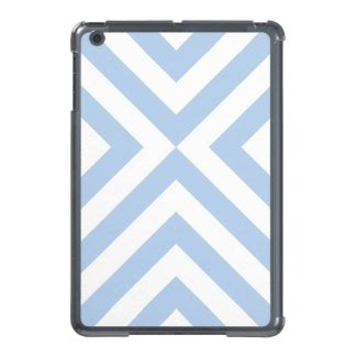 Light Blue and White Chevrons iPad Mini Covers