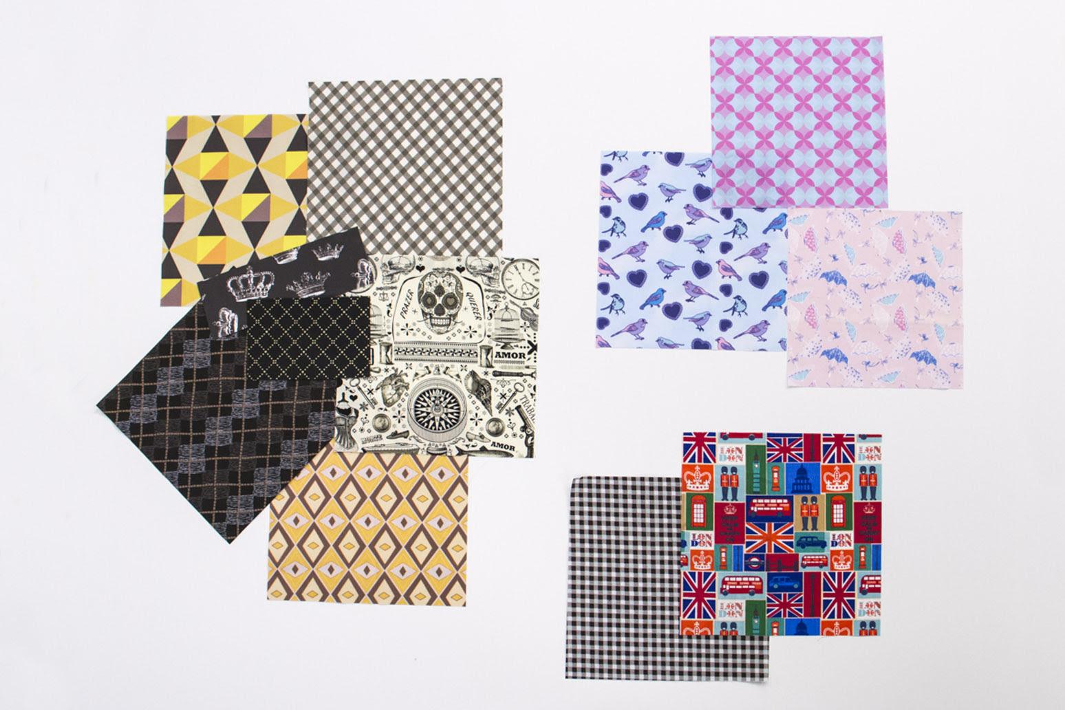 Na combinação pop, há um toque de ousadia, mas a regrinha das cores e padrões continua!
