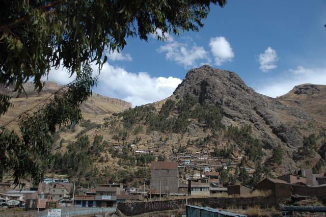 la ville de Huancavelica 3700metre d'altitude 40 mille habitants