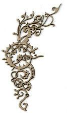 Spiky Flourish - Click Image to Close