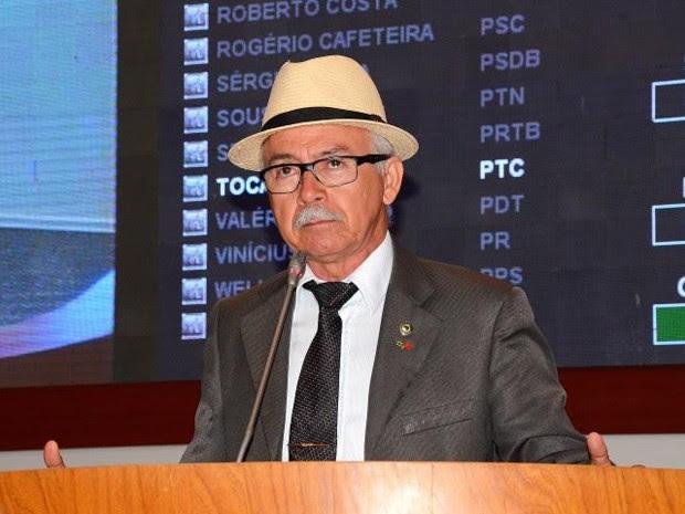 Deputado Fernando Furtado fez declarações contra os índios e os homossexuais durante audiência pública (Foto: Agência Assembleia / divulgação)