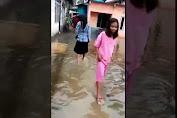 Video : Pemukiman Warga Benteng Selatan Tergenang Air Hujan