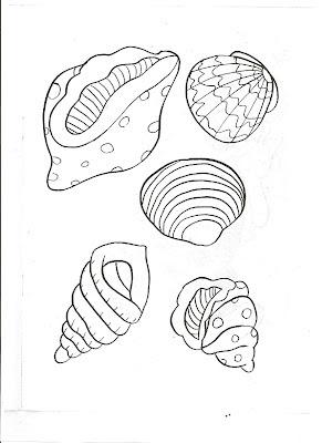 Deniz Canlıları Boyama Sayfaları 1 Axipix Foto