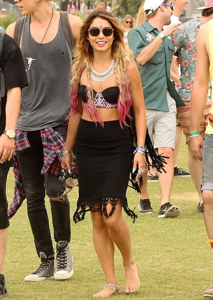 Vanessa Hudgens at Coachella 2014, Week 2