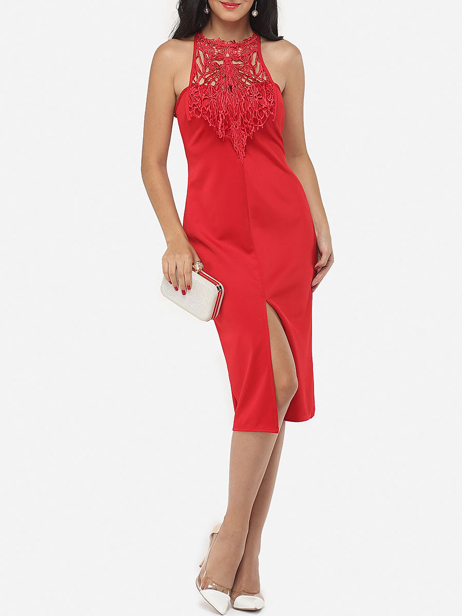 Price verona Neck Dresses Round Out Bodycon Patchwork Hollow plus size