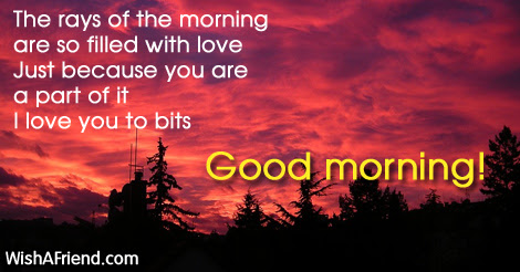 Good Morning Messages For Husband